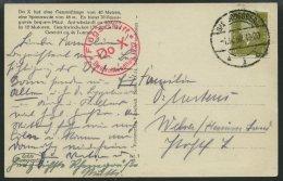 DO-X LUFTPOST 66.c. BRIEF, 01.10.1932, Deutschlandrundflug Der DO X, Etappe Bad Godesberg, Mit Rotem Stempel Deutschland