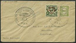 DO-X LUFTPOST 50.SR.h. BRIEF, 10.08.1031, Aufgabe Surinam Mit Sondermarken, Nach Den Niederlanden, Prachtbrief