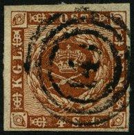 SCHLESWIG-HOLSTEIN DK 7 O, 141 (CREMPE) Auf 4 S. Liniert, Pracht