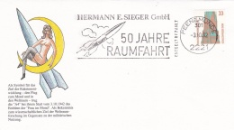 Germany Cover 1992 Peenemünde 50 Jahre Raumfahrt (T7A20)