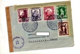 Lettre Cachet Wien Exposition Controlé Censuré