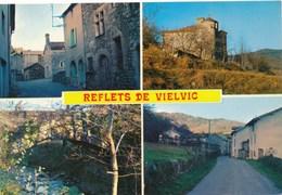 CPSM 48  Reflets De VIELVIC  écrite 1976 - Sonstige Gemeinden