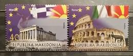 Macedonia, 2014, Mi: 692/93 (MNH)