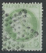 Lot N°34907  Variété/n°53, Oblit étoile Chiffrée3 De PARIS (Pl De La Madeleine), Griffe Dans La Couronne Coté Perles NOR - 1871-1875 Ceres