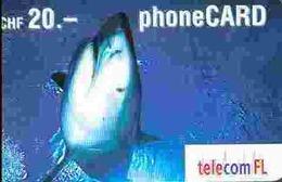 TK9566 LIECHTENSTEIN - Prepaid Shark  Exp. Date 04/2004 - Liechtenstein