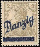 11998) Danzig 32 Postfrisch Kleiner Innendienst Gepr. Kniep BPP MI. 500,- - Dantzig