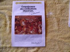 Dossiers Connaissances Chocolat Poulain, Connaissances Des Civilisations Disparues, Les Eldorados Des Indes Occidentales - Poulain