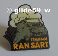 Pin's RANSART Team 4x4 - Villes
