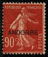 ANDORRE FRANCAIS - YT 12 * - TIMBRE NEUF *