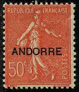 ANDORRE FRANCAIS - YT 15 * - TIMBRE NEUF *