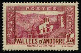 ANDORRE FRANCAIS - YT 39A * - TIMBRE NEUF *