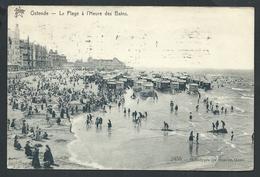 +++ CPA - OOSTENDE - OSTENDE - La Plage à L'heure Des Bains  // - Oostende