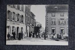 LORQUIN - Rue Des Halles ( Voir Affranchissement). - Lorquin