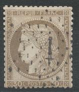 Lot N°34914  N°56, Oblit étoile Chiffrée 1 De PARIS (Pl De La Bourse)
