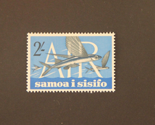 1965 Samoa I Sisifo 2sh Airmail Flying Fish Mint
