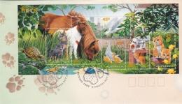 Australia FDC 1996 Pets Minisheet  (T7A21) - FDC