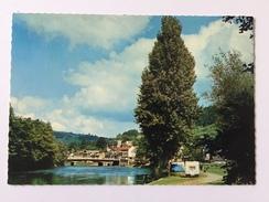 """REMOUCHAMPS""""L' Amblève Et Le Nouveau Pont (caravane )"""