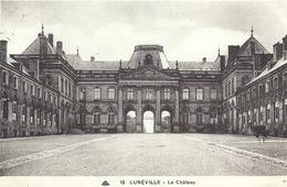 MEURTHE ET MOSELLE - 54 - LUNEVILLE - Le Château - Luneville