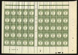 ANDORRE FRANCAIS - YT Taxe 16 ** - PANNEAU DE 50 TIMBRES ** - Postage Due