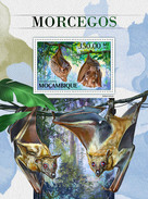 MOZAMBIQUE 2016 - Bats S/S. Official Issue