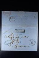 Russia: Complete Letter St Peterburg To Arnhem Holland 1867 - Russland & UdSSR
