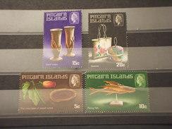 PITCAIRN - 1968 ARTE  4 VALORI - NUOVI(++) - Pitcairn