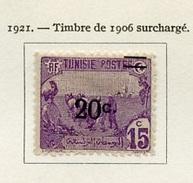 Tunisie 1921 N°69 - Unused Stamps