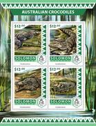 SOLOMON Isl. 2016 - Australian Crocodiles