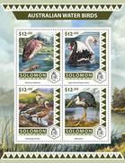 SOLOMON Isl. 2016 - Australian Water Birds, Swans