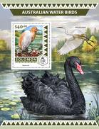 SOLOMON Isl. 2016 - Australian Water Birds, Swans S/S