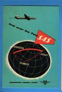 PUBLICITA - SAS - SCANDINAVIAN AIRLINES SYSTEM.  RIPRODUZIONE.   Vedi Descrizione - Pubblicitari