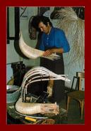 Thème Métiers, Tirage à 60 Ex, édition Josan, Fabricant De Chistera Scan Recto Verso - Professions