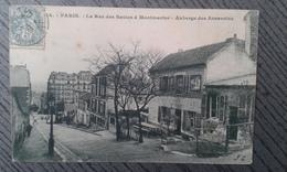 75 PARIS 1903 LA RUE DES SAULES AUBERGE DES ASSASSINS REF16 - Arrondissement: 18