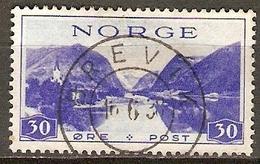 NORVEGE    -    1938 .   Y&T N° 189 Oblitéré..