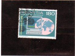 B - Svizzera 1995 - UPU Unione Postale Universale