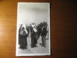CARTOLINA FORMATO PICCOLO  -  FERRANIA PROBABILE LIBIA GUERRA  ANIMATA  -  B - 334 - Fotografia