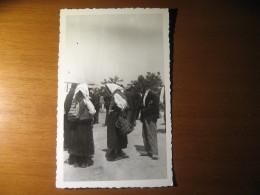 CARTOLINA FORMATO PICCOLO  -  FERRANIA PROBABILE LIBIA GUERRA  ANIMATA  -  B - 337 - Fotografia