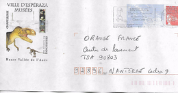 11  ESPERAZA  Ville Des Musées Desdinosaures Et De La Chapellerie  11/01/02