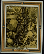 ART 1986 AITUTAKI PAINTING BY ALBERCHT DURER BLOCK MI No  BLOCK  60 MNH VF!!