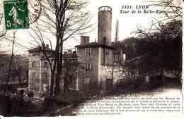 69 . Rhone : Lyon : Tour De La Belle Allemande . - Lyon 9
