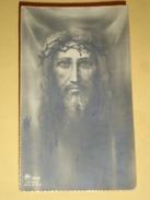 AR Dep.1886 - ECCE HOMO Gesù CORONA SPINE  Anno 1935 VIGAROLO,Borghetto Lodigiano,Lodi /santino Monocromo - Santini