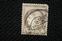 France Ceres 30c  N°56 Varieté Anneau Lune Devant Front