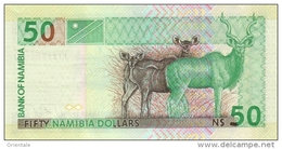 NAMIBIA P.  8a 50 D 2003 UNC - Namibie