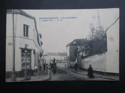 CP BELGIQUE (V1615) BRUXELLES-ANDERLECHT (2 Vues) La Rue Du Centre Lagae, Brux 1907 Marcophilie Vierves