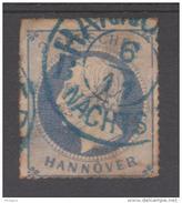 ALLEMAGNE  HANOVRE/ HANNOVER  YVERT N° 25  Used   Réf  G76A