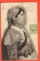 IAM-17  Tunis,  Femme Mauresque. Cachet Frontal 1905 Vers Lille FR - Tunisie