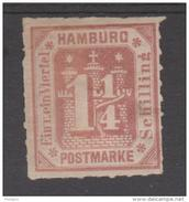 ALLEMAGNE  HAMBOURG / HAMBURG  YVERT N° 22  *MH   Réf  G77