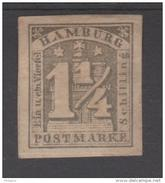 ALLEMAGNE  HAMBOURG / HAMBURG  YVERT N° 8a MH  Réf  G78