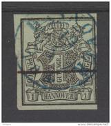 ALLEMAGNE  HANOVRE/ HANNOVER  YVERT N° 2  Used   Réf  G63