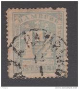 ALLEMAGNE  HAMBOURG / HAMBURG  YVERT N° 9  Used   Réf  G74